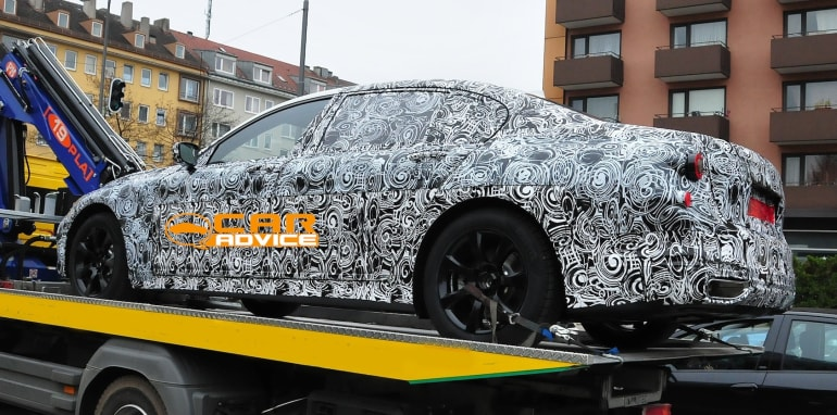 BMW 5 Series sedan spied - 5