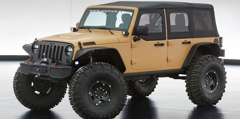 Jeep Wrangler Sand Trooper II - 1