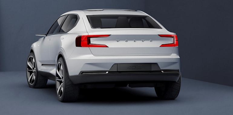 Volvo Concept 40.2 rear quarter low