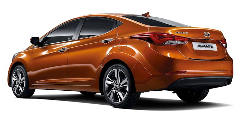 Hyundai Elantra Facelift - 2