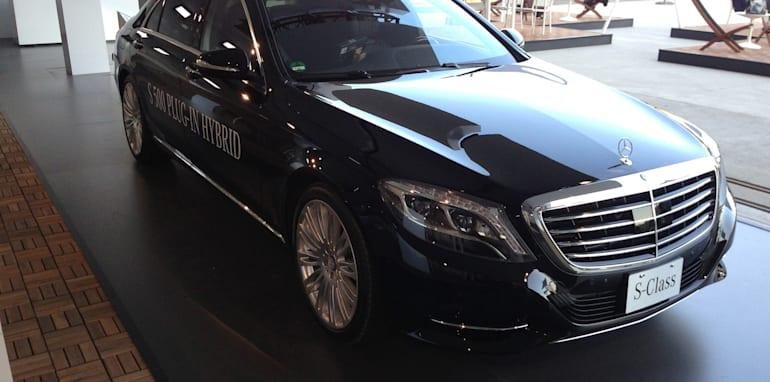 Mercedes-Benz S-Class plug-in hybrid 4