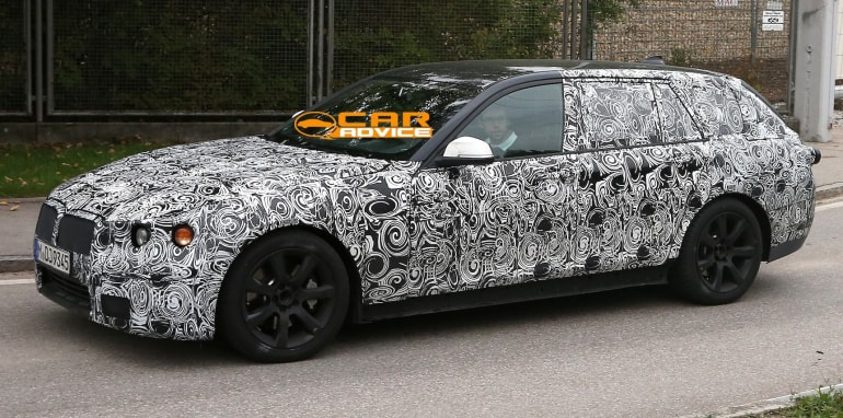 BMW 5 Series touring spied - 1