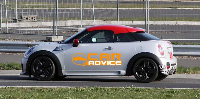 Mini Coupe Jcw Gp Spy Shots Caradvice