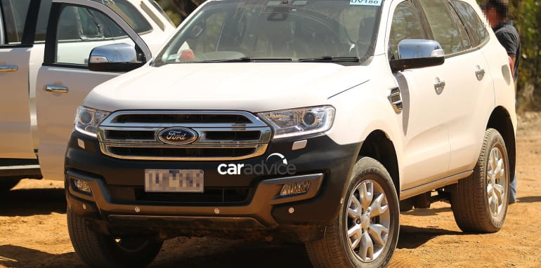 2105 Ford Everest Spied in Victoria