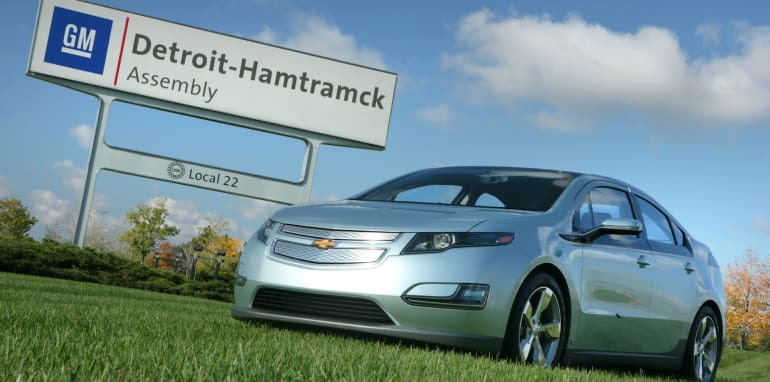 Hamtramck Assembly Plant to Produce Chevrolet Volt