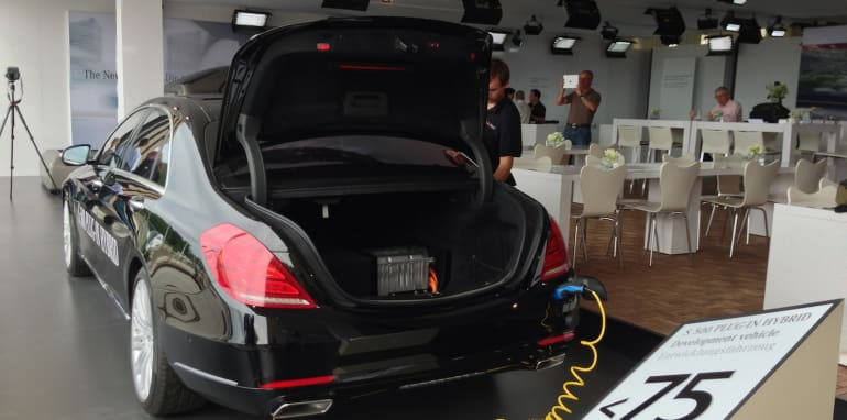 Mercedes-Benz S-Class plug-in hybrid 3