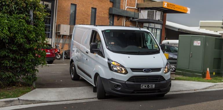 2016 Ford Transit Custom Sydney to Melbourne Pics-39