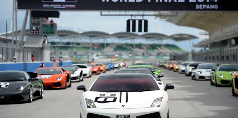Lamborghini Super Trofeo Final Parade