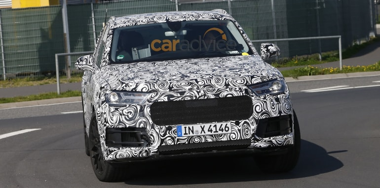 Audi Q7 plug-in hybrid - grille