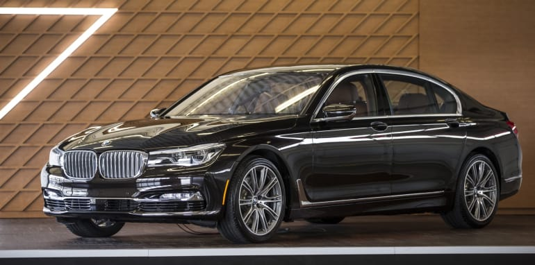 BMW 7 Series New York Media Launch.