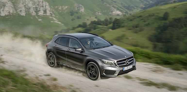Mercedes-Benz GLA official leak 9