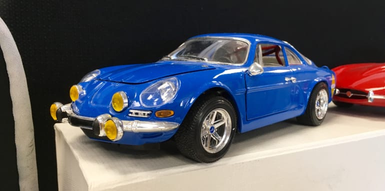 old renault alpine