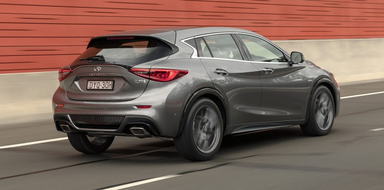 infiniti has simplified the line up for both the q30 and qx30 with the outgoing entry level gt models dropped alongside the diesel q30