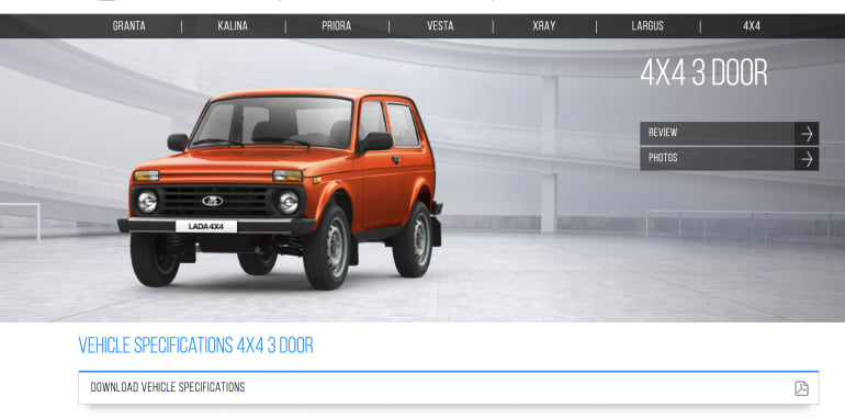 New Lada Niva For 2018 Could It Be Caradvice