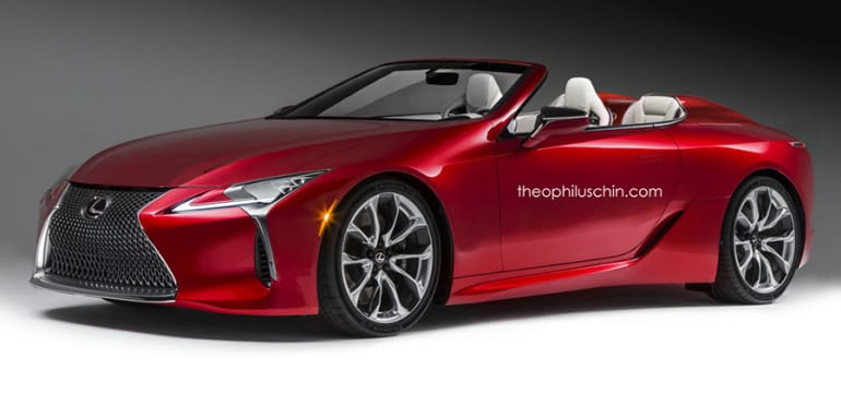 Lexus Lc Convertible Lc F On The Way Report Caradvice