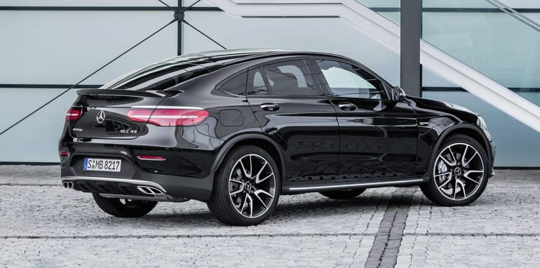 Mercedes-AMG GLC 43 Coupé; 2016