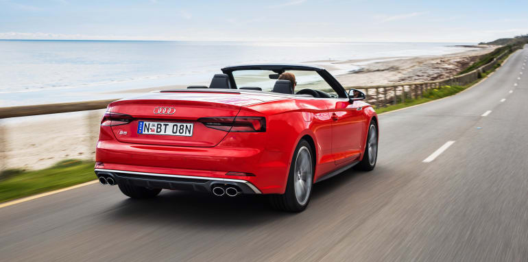 2018 Audi A5 S5 Cabriolet Pricing And Specs Caradvice