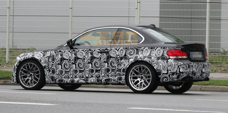 2012 BMW 1 Series M shows off its quad exhausts   CarAdvice
