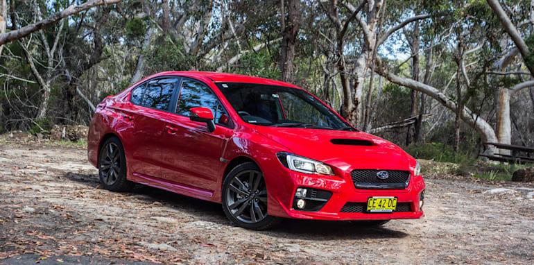 Subaru WRX 2015 Red-1