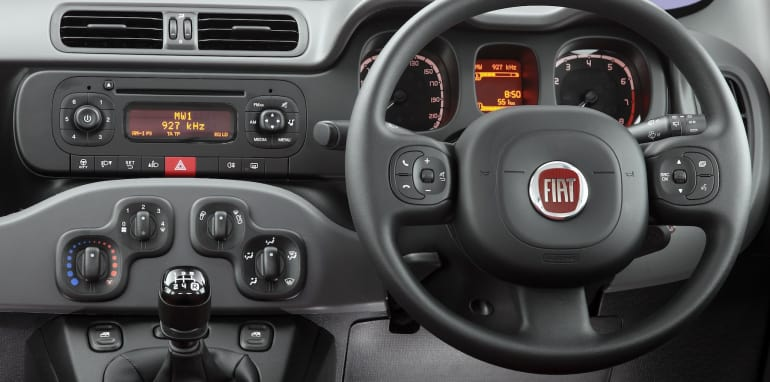 Fiat Panda Pop steering wheel