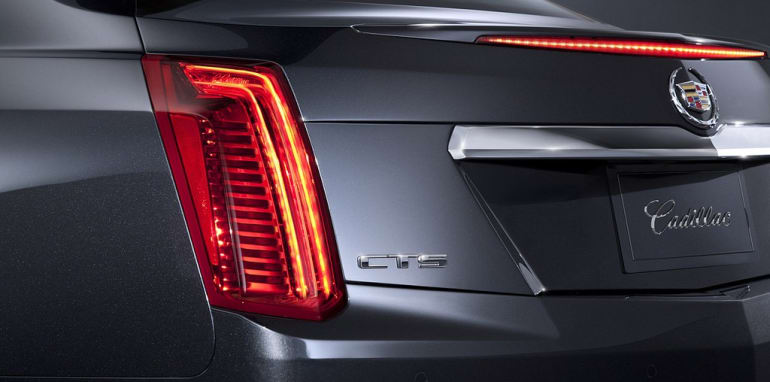 Cadillac CTS Leaked - 5