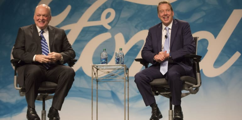 Ford Appoints Jim Hackett as CEO