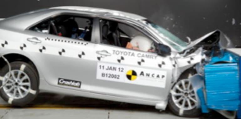 2012 Toyota Camry, Subaru Impreza, XV earn five-star ANCAP