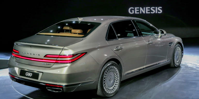 2020 Genesis G90 Facelift Unveiled Caradvice