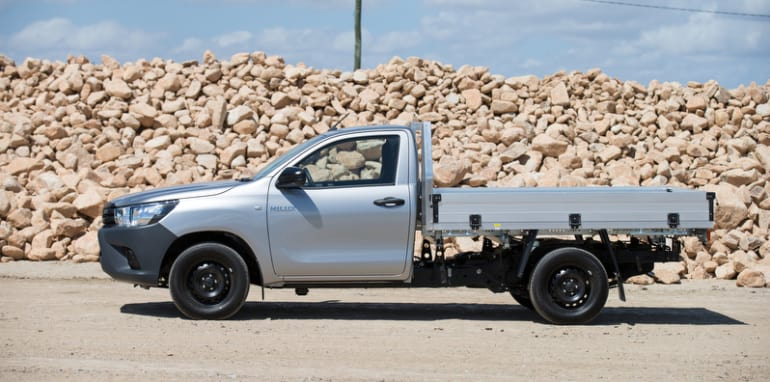 2015 Toyota HiLux 4x2 Workmate single cab-chassis