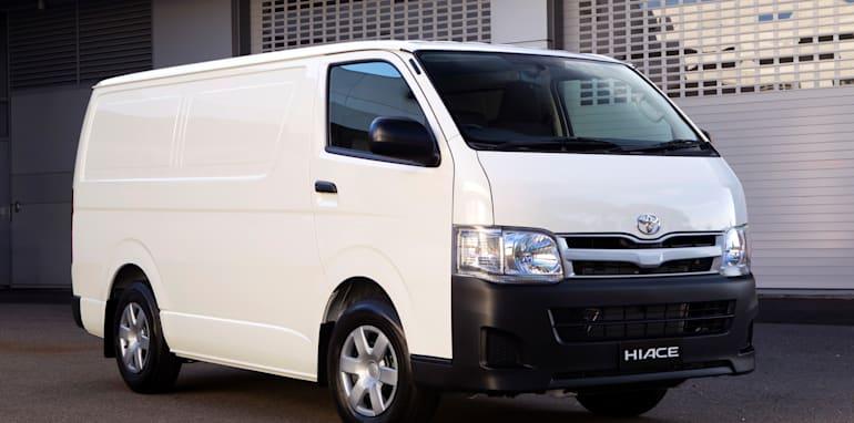 Toyota HiAce Ð AustraliaÕs best-selling van was updated in 2010