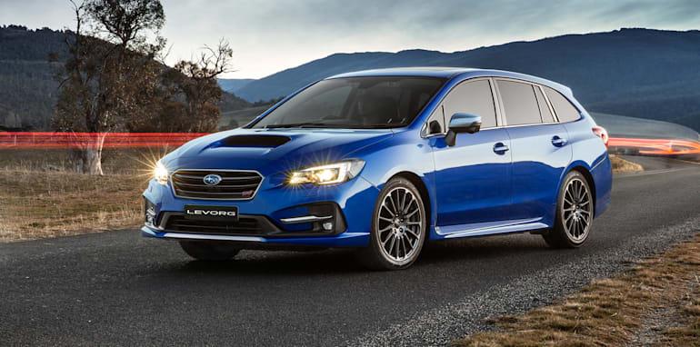 2018 Subaru Levorg Pricing And Specs 1 6 Model Cuts Entry Cost Sti