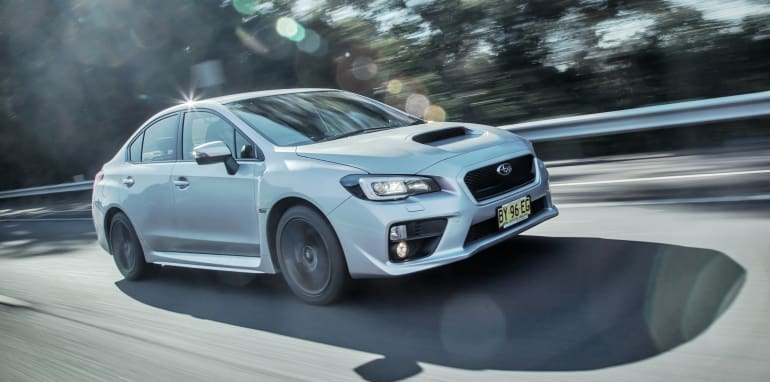 2014 Subaru WRX 5