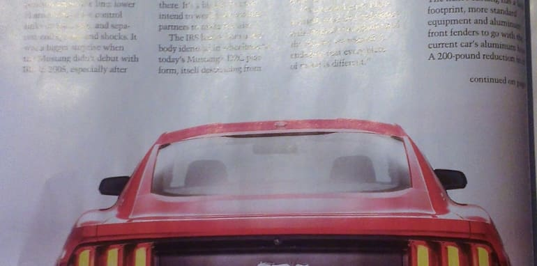 Ford Mustang Leaked - 3