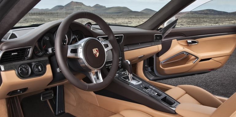 Porsche 911 Turbo S Interior _1_