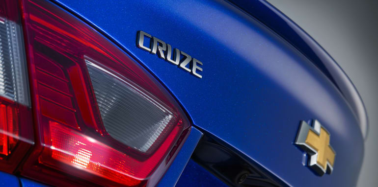 2016 Chevrolet Cruze Badge
