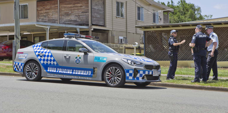 here we were met by superintendent david johnson, as well as sergeant hedy  farrell and senior constable paul stanford, who were both part of the  evaluation