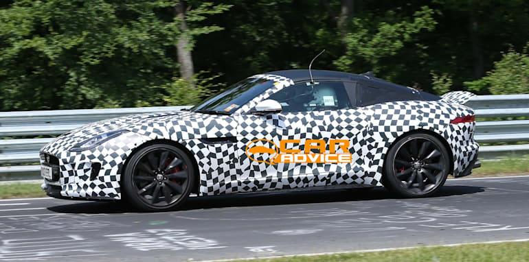 Jaguar F-Type Coupe Spied - 4
