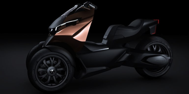 Peugeot Onyx Concept Scooter - 4