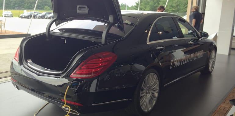 Mercedes-Benz S-Class plug-in hybrid 1