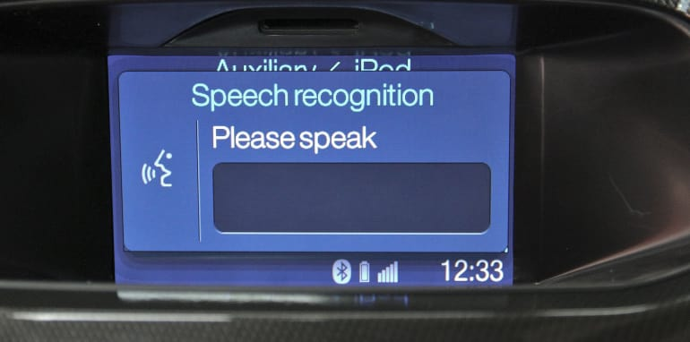 Ford Ranger's Bluetooth Voice Control System