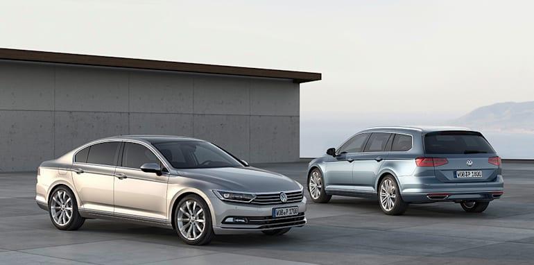Der neue Volkswagen Passat und Passat Variant