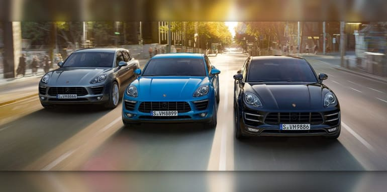 Porsche Macan Range - Wide