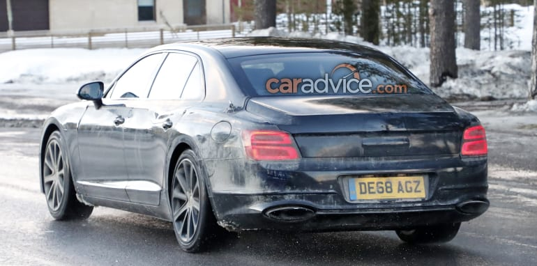 2020 Bentley Flying Spur Hybrid Spied Caradvice