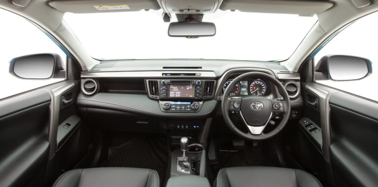 2015 Toyota RAV4 Cruiser (black interior shown)