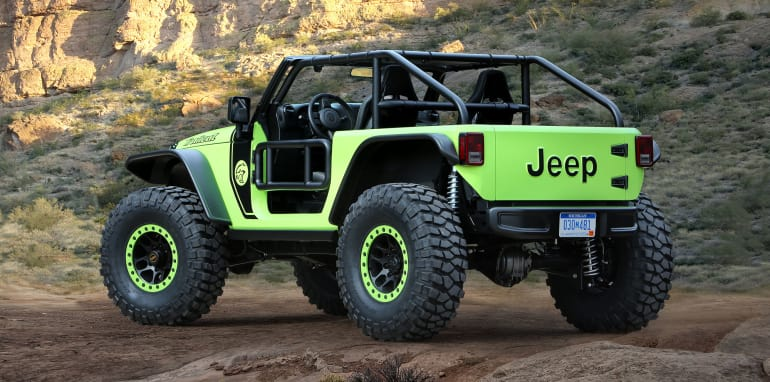 Jeep® Trailcat Concept