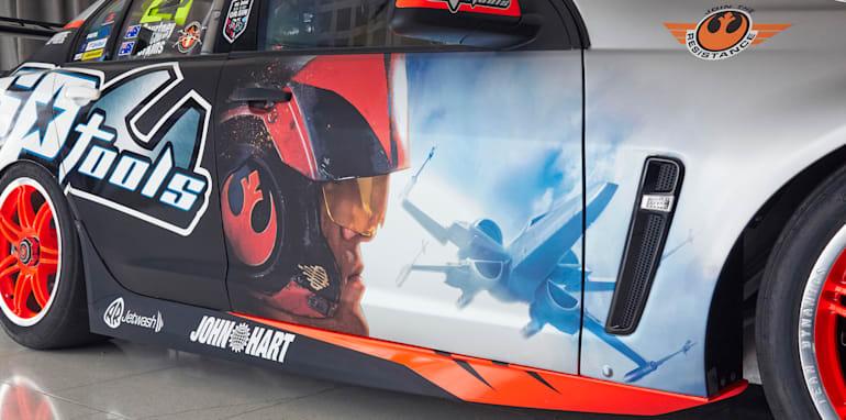 Holden Racing Team Star Wars Livery