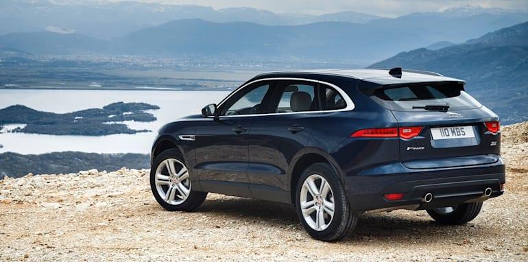 18MY Jaguar FPACE 3.0 TDV6 Portfolio.