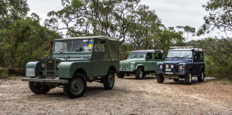 Land Rover Defender Old v New 90 Series-16