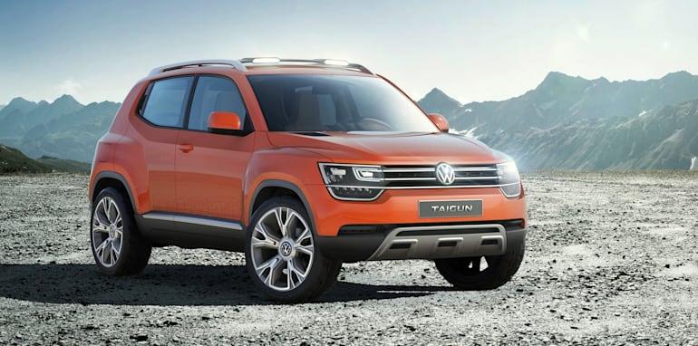 Die neue Volkswagen SUV-Studie Taigun