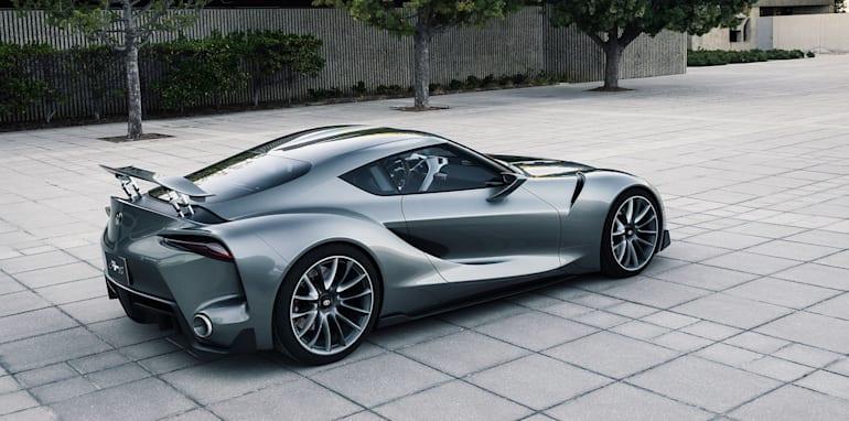Toyota FT-1 grey - rear